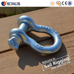 Electrogalv Us Type Shackle Screw Pin Anchor Bow pictures & photos