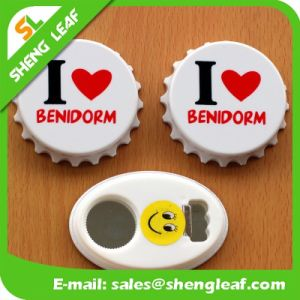Promotional Customized Logo Printed Love Opener Tin Fridge Magnet pictures & photos