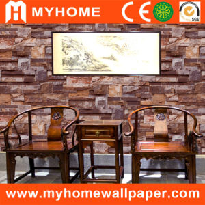 Wall Decorative 3D Brick Waterproof Wall Paper with PVC pictures & photos