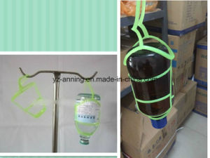 Disposable Plastic Hangers for Infusion Glass Bottles pictures & photos