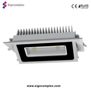 China Epistar 5730SMD 20W/30W Recessed Rectangular LED Ceiling Light pictures & photos