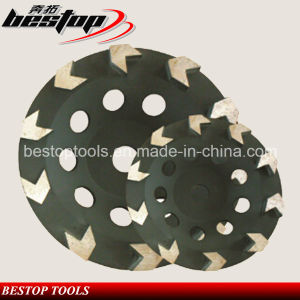 Arrow Segmented Stone Concrete Diamond Disc Turbo Cup Grinding Wheel pictures & photos