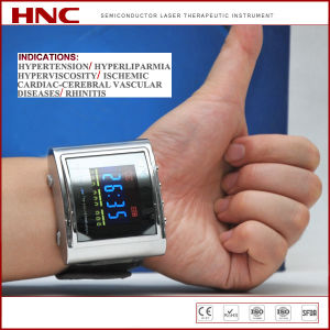 Semiconductor Laser Therapy Instrument Hypertension Treatment Laser Watch pictures & photos