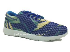 Fashion Ladies Casual Shoe with PVC Injection Sole (J2283-L)
