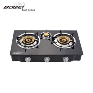 High Efficiency Tempered Glass Double Burners Best Price Gas Cookers