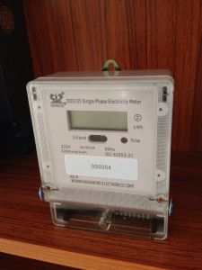 Anti-Tamper Single Phase Energy Kwh Meter pictures & photos