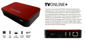 Digital Set Top Box TV Online+ with Many Applications and Free Channels Internet TV Box pictures & photos