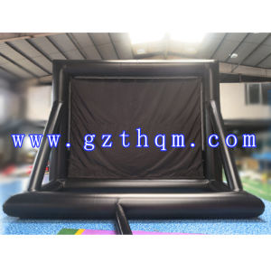 Inflatable Movie Screen for Advertising/Inflatable Movie Projection Screen in Projection pictures & photos
