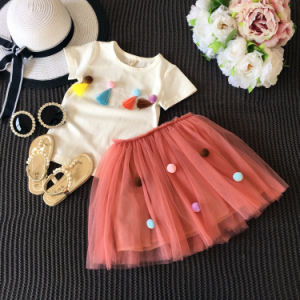2017 New Style Summer Baby Clothes Set pictures & photos