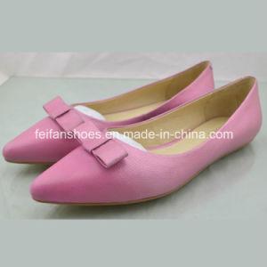 New Style Ladies Shoes Flat Shoes Single Shoes Sandals (4097-C01-B673) pictures & photos