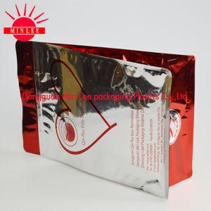 Printed Flat Bottom Bag Square Bottom Bag Block Bottom Bag pictures & photos