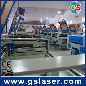 Lifting Platform Laser Cutting Machine GS-1490s 80W 1400*900mm Factory Price pictures & photos