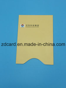 Color Aluminum Foil Paper RFID Credit Card Holder Sleeve Bag pictures & photos