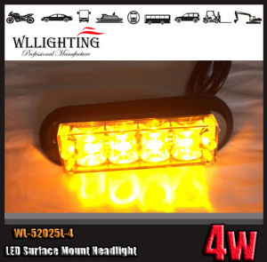 Amber Surface Mount Car LED Strobe Warning Light pictures & photos