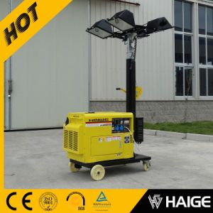Portable Diesel Light Tower 4X500W