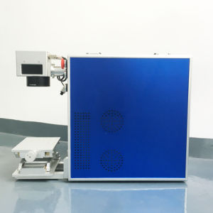 Portable Mini Laser Metal Marking Machine Price pictures & photos