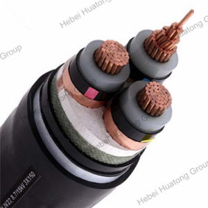 Medium Voltage 33kv 3 Core 150mm2 XLPE Insualted Copper Power Cable pictures & photos