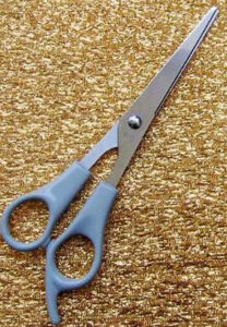 New Design OEM Rubber Handle Nail Scissors pictures & photos
