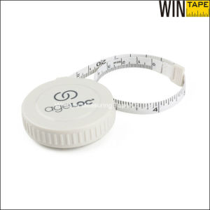 Logo Promotion Gifts Plastic Rtractable Cloth Tape Measure pictures & photos