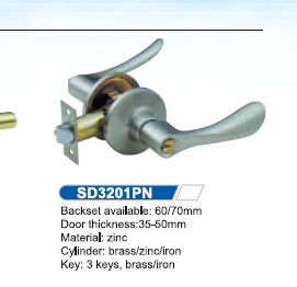 Tubular Lever Lock China Door Locks SD3201 pictures & photos