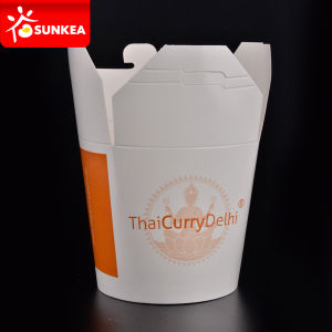 Customer Company Logo Brand Printed Food Noodle Box Kraft Paper pictures & photos