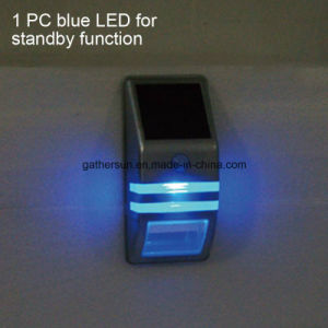 Stainless Steel Solar Induction Wall Lamp with Ce Approved pictures & photos