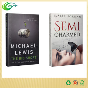 Cheap Paperback Hardcover Book Printing with Jacket (CKT-BK-002)