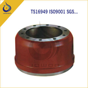 Iron Casting Truck Parts Brake System Brake Drum pictures & photos
