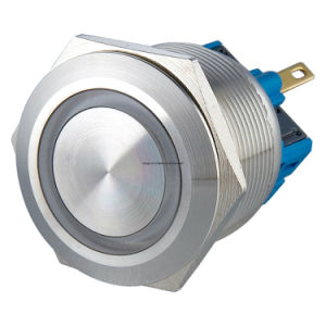 Langir Metal Push Button Switch, Push Button Switch (19mm, 22mm, 25mm, 30mm) pictures & photos