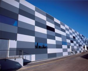 High Strength Glass Curtain Wall Decoration Materials (Glass Honeycomb Wall Panel)