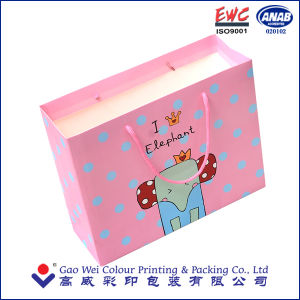 Customized Christmas Paper Bag for Gift Packaging pictures & photos