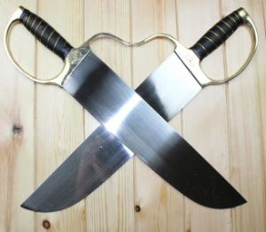 Plastic Wing Chun Sword/ Butterfly Sword/ Martial Arts Training Weapon pictures & photos