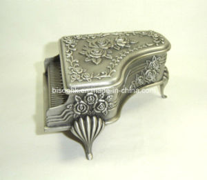 Hot Sale Custom Logo Printed Metal Jewelry Box pictures & photos