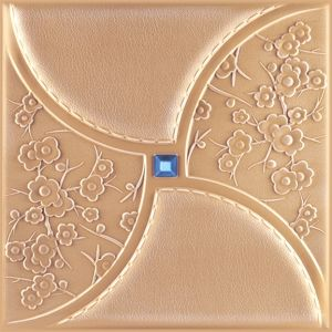 3D PU Leather Wall Panel 1053-3 for Modern Interior Decoration pictures & photos