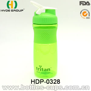 600ml BPA Free Custom Protein Plastic Shaker Bottle (HDP-0328) pictures & photos