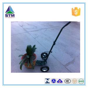 Mesh 4 Wheel Garden Flower Pot Cart