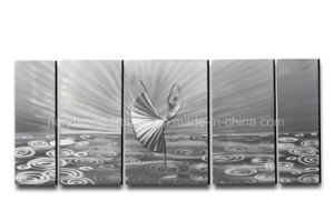 3D Effect, 100% Hand-Made Silver Metal Wall Art/Aluminum Craft pictures & photos