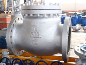 ANSI Flanged Cast Steel Spring Swing Check Valve