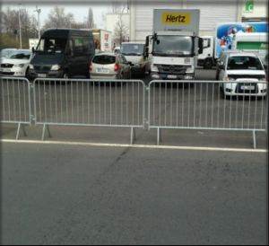 Portable Traffic Safety Steel Barrier/Road Temporary Pedestrian Barrier pictures & photos