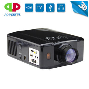 Multimedia Home Theater LED Projector HDMI/SD/USB/VGA pictures & photos