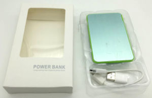 2016ept Whosale 2000mAh 2 in 1 Credit Card Size 2000mAh Power Bank with USB Flash Drive for Promotioal Gift pictures & photos