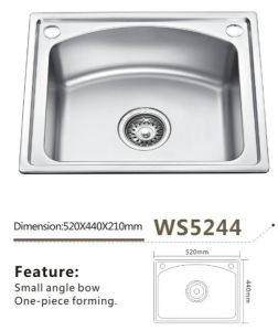 Stainless Steel Kitchen Sink Ws5244 Kitchenware