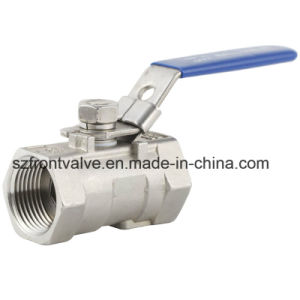 2PC Ss Ball Valve with ISO5211 Mounting Pad pictures & photos