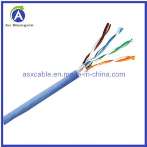 Hot Sell Network Cable/LAN Cable FTP Cat 5e Cable with High Performance (305m/box)