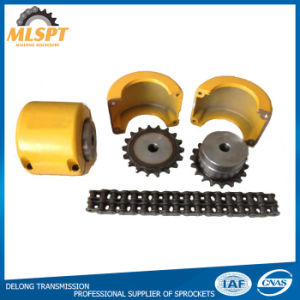 Yellow Case Two Strand Sprocket Roller Chain Couplings pictures & photos