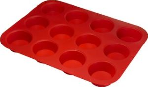 Silicone 12 Cup Muffin Pan & Cake Mould &Bakeware FDA/LFGB (SY1307) pictures & photos