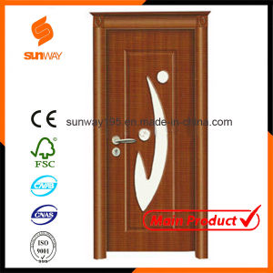 Customized Size Colour Decorative Ecology MDF Melamine Wooden Door Hotel Rooms pictures & photos