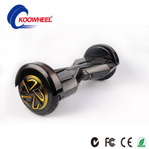 Mini Self-Balancing Scooter with Gloden 8-Inch 4.0 Bluetooth Dual Stereo Speaker, Samsung Battery pictures & photos