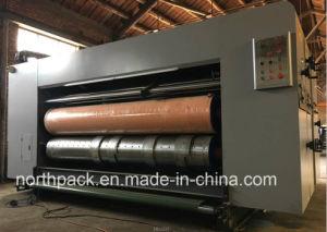 Lead-edge feeding flexo printing slotting die-cutting machine pictures & photos
