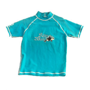 Kid′s Short Sleeve Rash Guard (HXR0063) pictures & photos